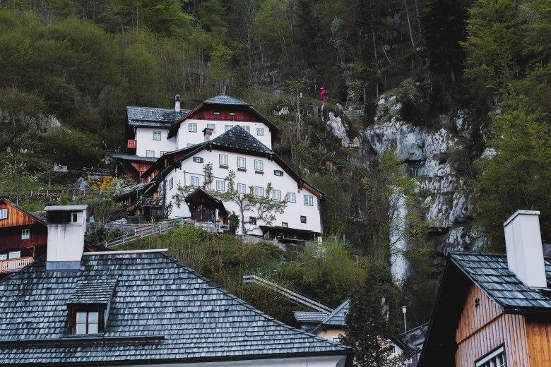 Salzkammergut Countryside Miền Quê Nước Áo Houses