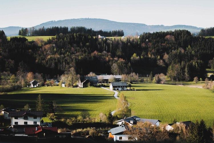 Salzkammergut Countryside Miền Quê Nước Áo