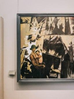 Tranh vẽ tại Bảo Tàng Mỹ Thuật Thành phố Hồ Chí Minh Fine Arts Museum 2
