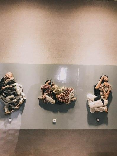 Tượng treo tường Bảo Tàng Mỹ Thuật Thành phố Hồ Chí Minh Fine Arts Museum