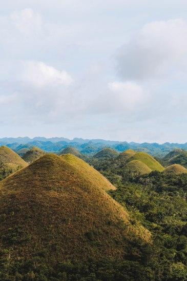 Bohol Chocolate Hills Landscape