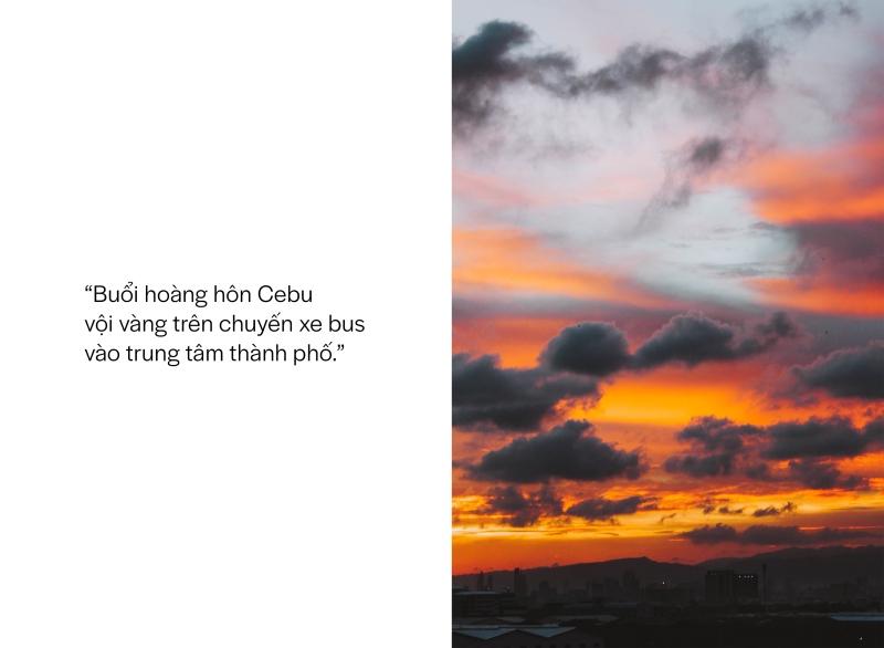 Cebu Sunset tam tầm