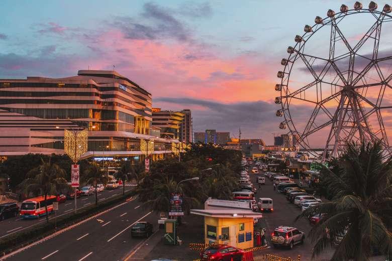 Hoàng hôn vịnh Manila