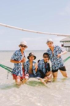 Nhóm đi cùng tới Cebu