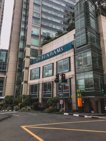 Shopping Mall in Manila