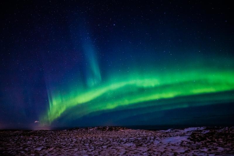 Bắc Cực Quang Iceland