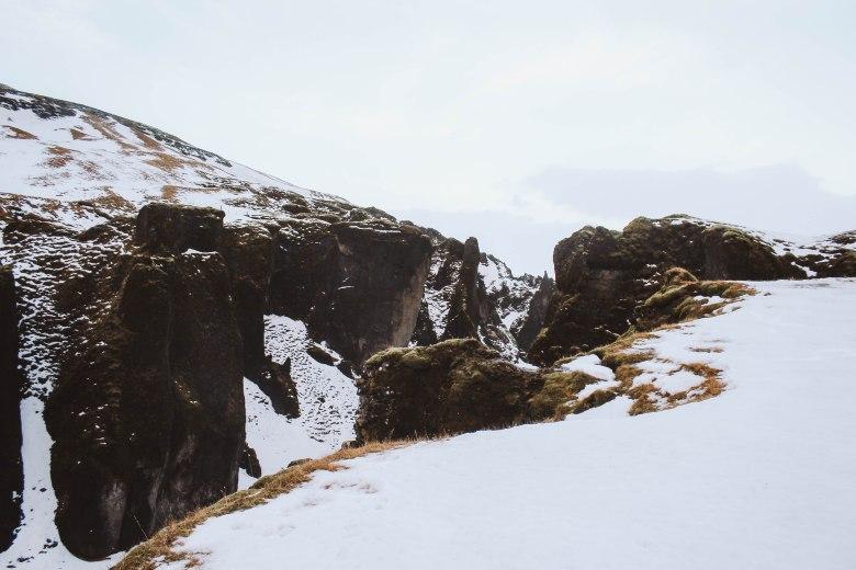 Fjaðrárgljúfur hẻm núi