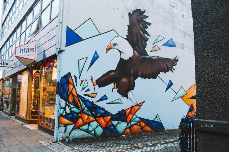 Street Art ở Reykjavik