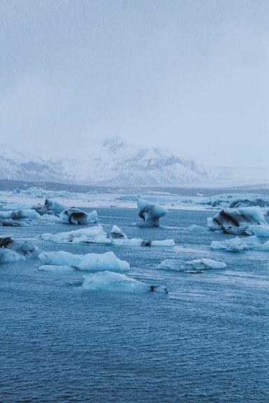 Jökulsárlón Iceland Ice Lagoon