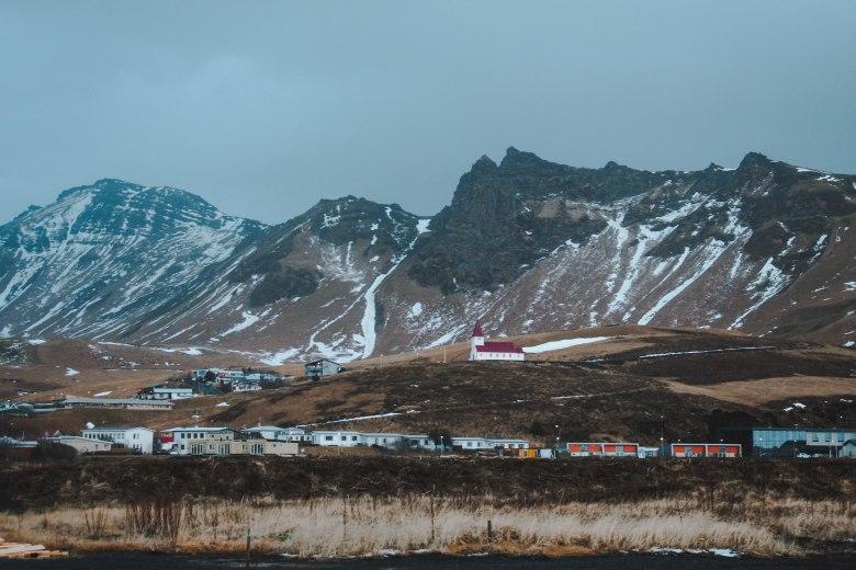 Làng Vík Iceland