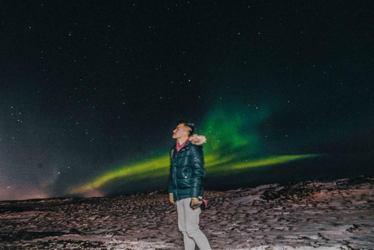 Lý Thành Cơ Bắc Cực Quang Iceland 2