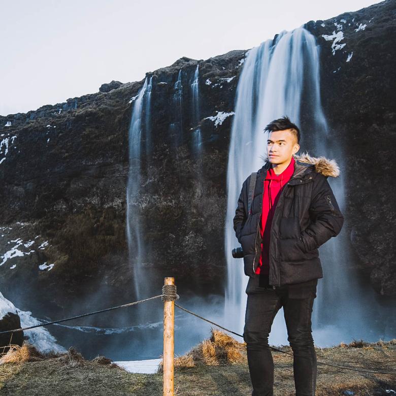 Lý Thành Cơ Iceland Waterfall