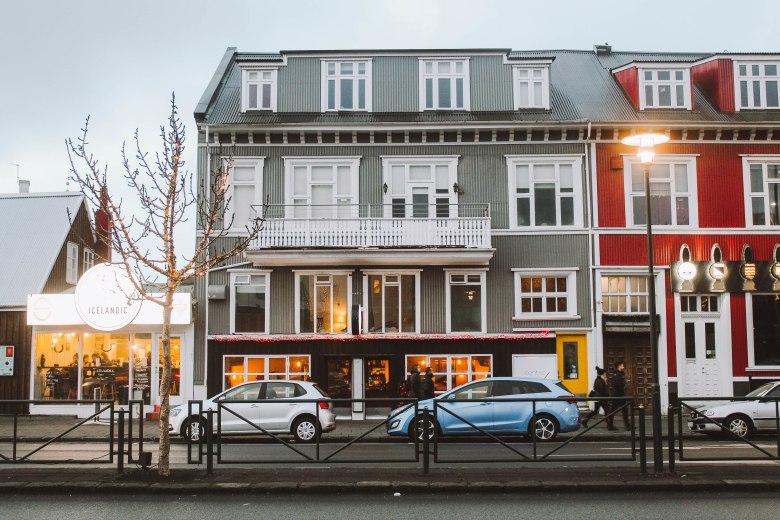 Reykjavik Iceland những ngôi nhà búp bê