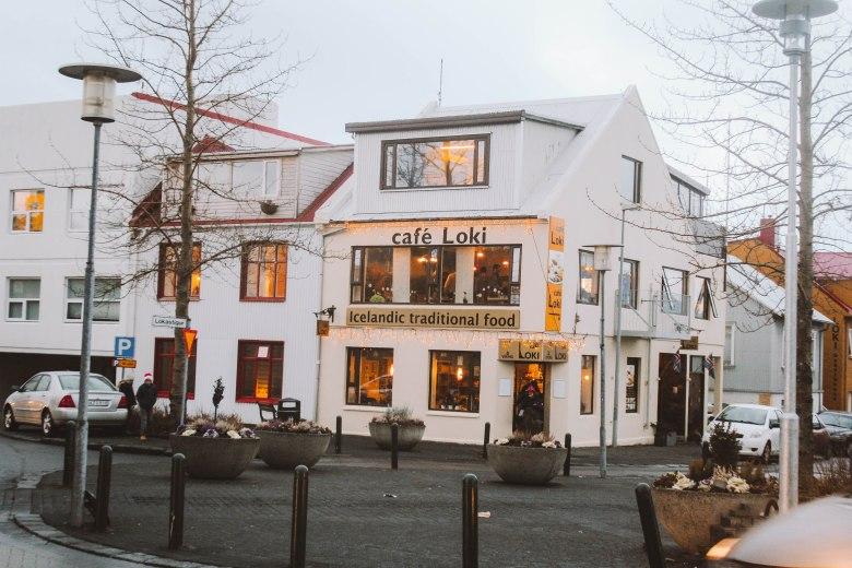 Reykjavik Iceland quán cafe Loki