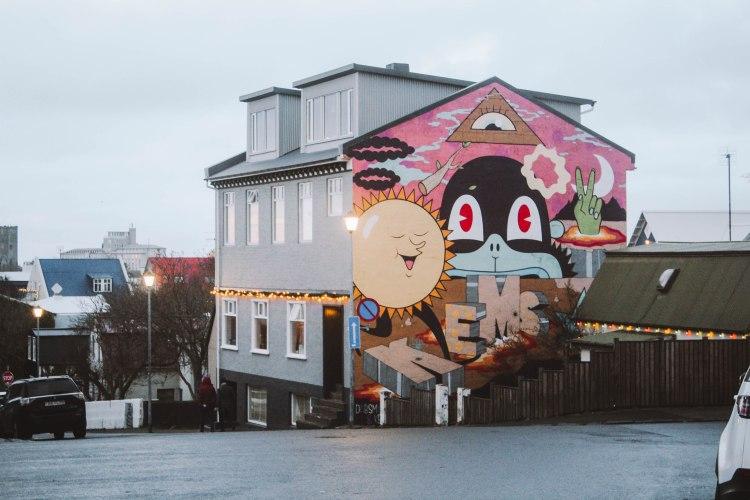 Reykjavik Iceland Street Art tuyệt đẹp