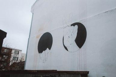 Reykjavik Iceland streetart