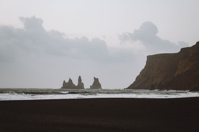 Vík Rock Formation