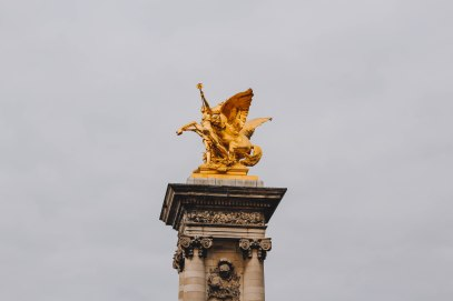 Winged Horse Statue