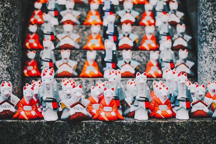 Tượng cáo Kyoto