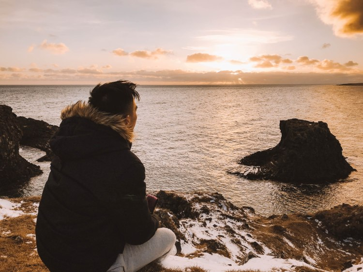 Lý thành Cơ Arnarstapi Iceland