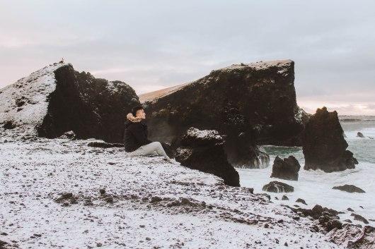 Reykjanesviti cliffs Lý Thành Cơ