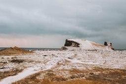 Reykjanesviti cliffs