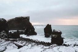 Reykjanesviti rock formation