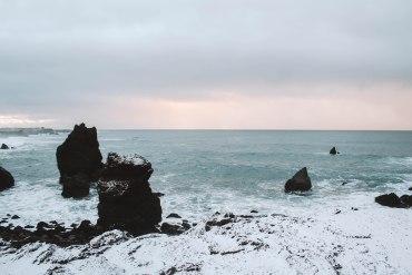 Reykjanesviti rock formations