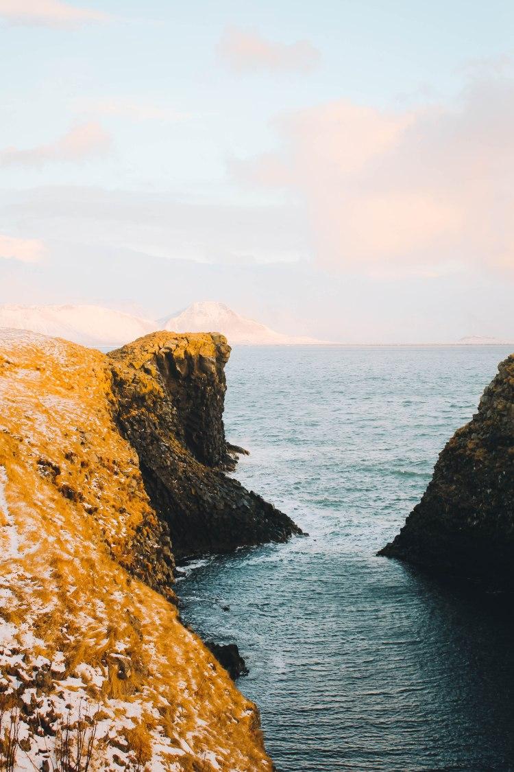 The Cliffs in Arnarstapi