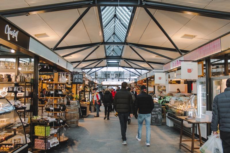 Khu chợ ẩm thực