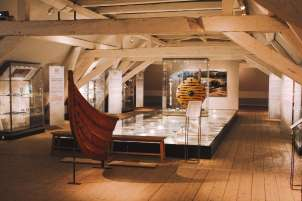 Khu trưng bày Viking trong bảo tàng