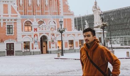 Lý Thành Cơ tại Riga Latvia