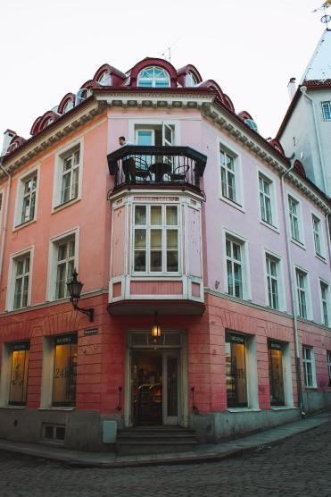 Ngôi nhà ở Phố cổ Tallinn Estonia