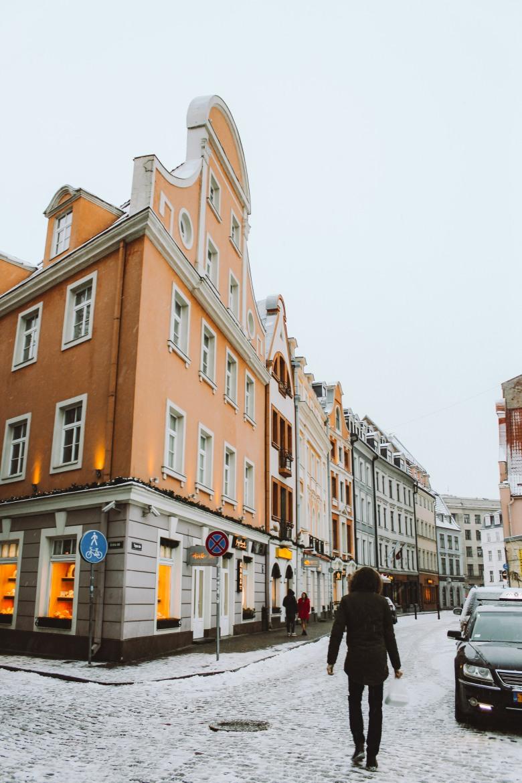 Những ngôi nhà cổ ở Riga