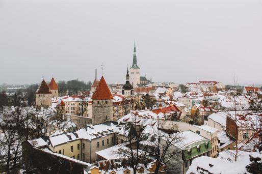 Phố cổ Tallinn Estonia