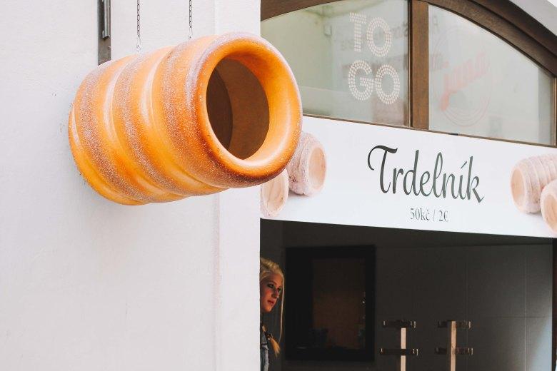 Tiệm bánh Trdelnik ở Prague