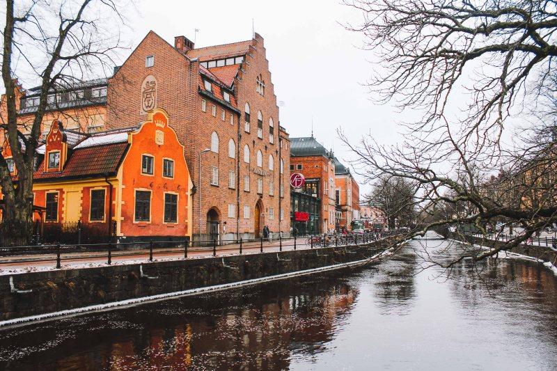Uppsala bên sông