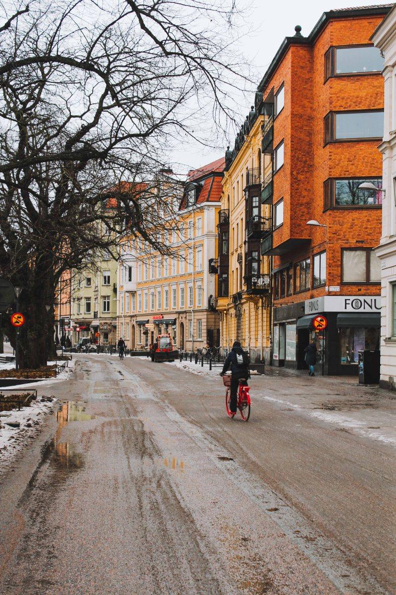 Uppsala đường phố