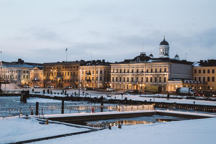Helsinki ban đêm