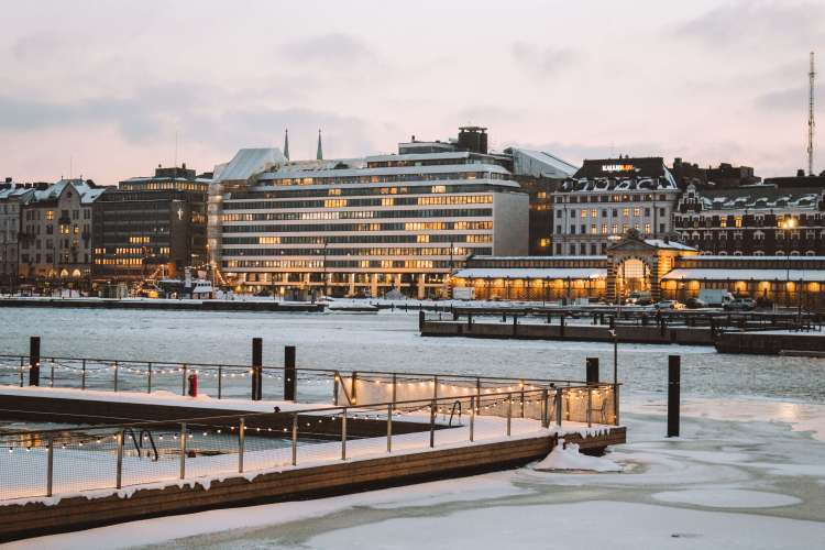 Helsinki bến cảng