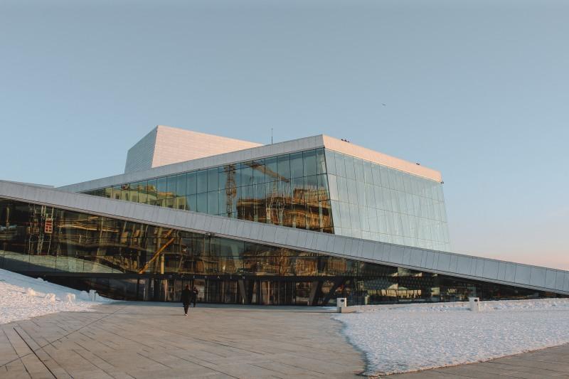 Oslo Opera House tráng lệ