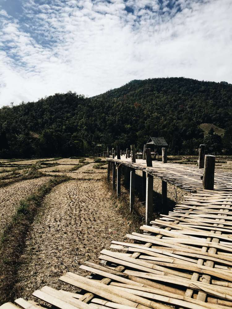 Pai 12 - The Longest Bamboo Bridge