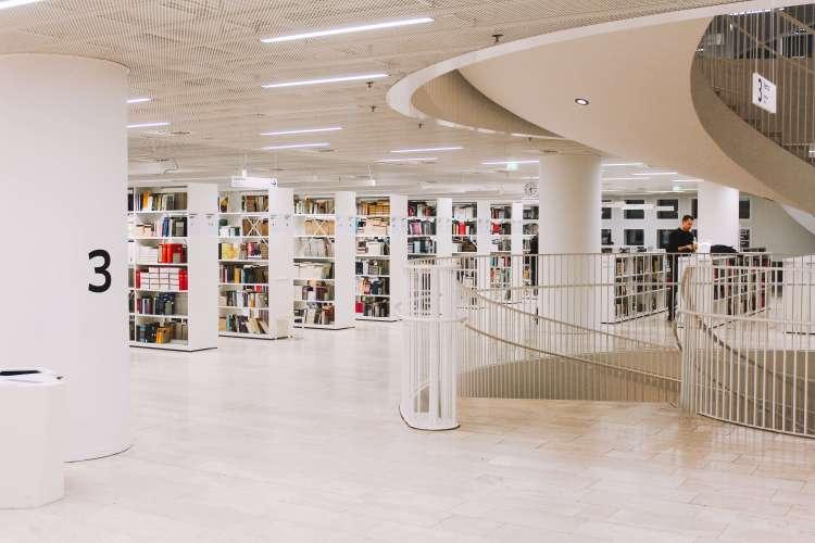 Thư viện tại Helsinki