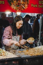 Myeong Dong món ăn đường phố
