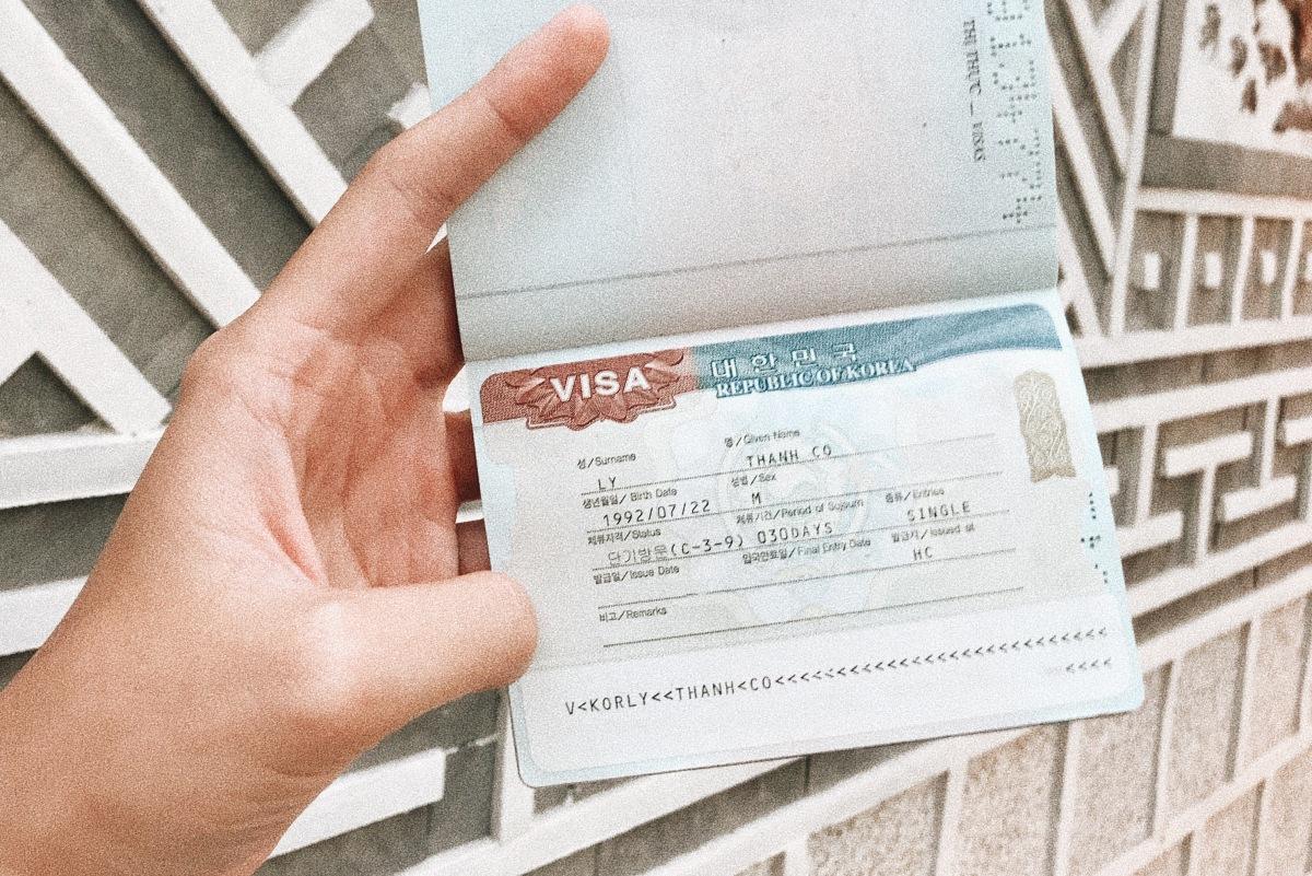 Hướng dẫn xin Visa Du lịch Hàn Quốc tự túc cho người Việt