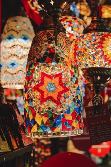 Đèn ở Grand Bazaar