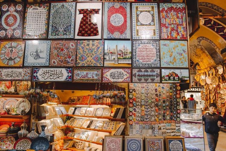 Đồ lưu niệm ở Grand Bazaar