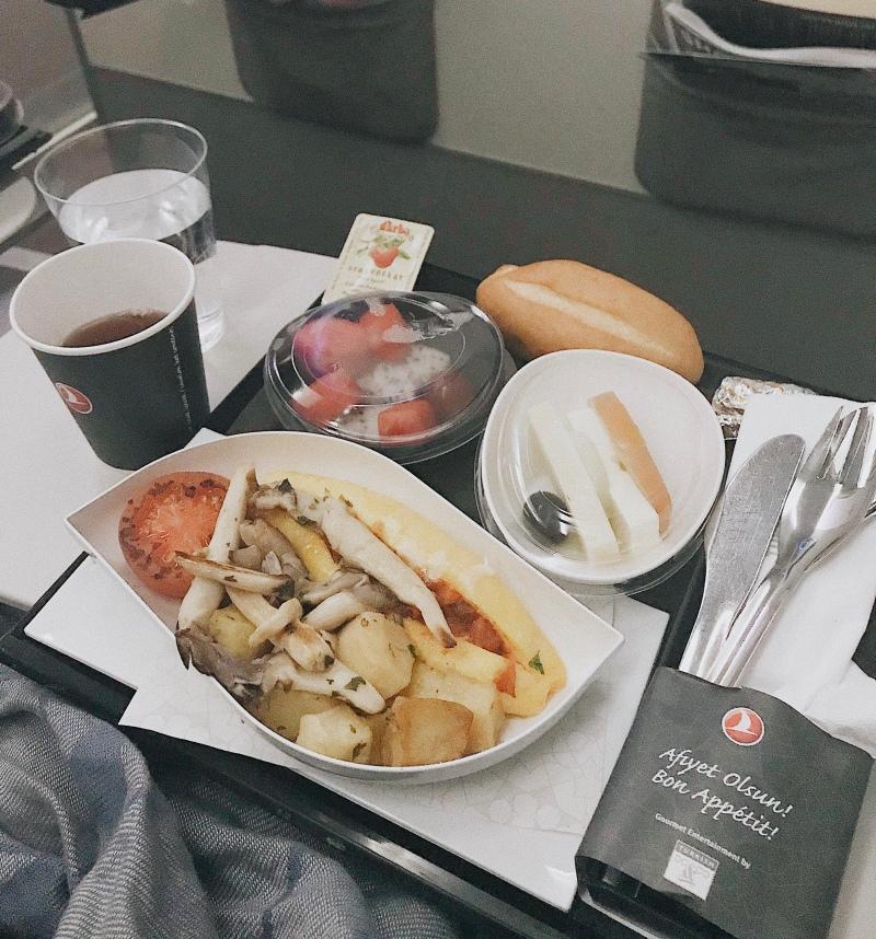 Đồ ăn của Turkish Airlines