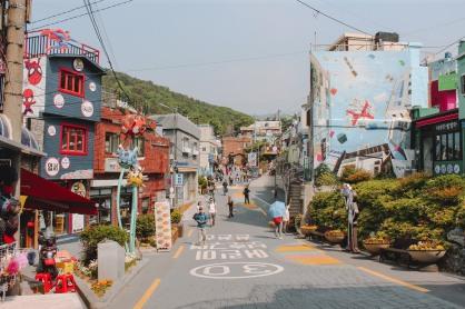 Gamcheon xinh xắn