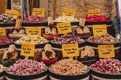 Gia vị tại Spice Bazaar